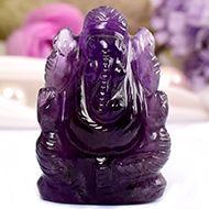 Ganesha in Amethyst - 23 gms