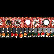 Traditional Sea Shell Bandarwar with Mirror Design - II