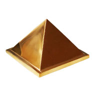 Brass Pyramid - Hollow Base