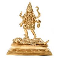 Goddess Kali idol in Bronze