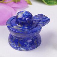 Lapis Lazuli Shivlingam - 126 gms