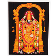 Lord Tirupati Balaji Photo - Small