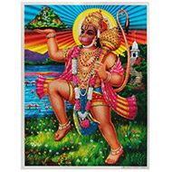 Lord Hanuman Photo - Large