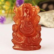 Gomed Ganesh - 81.90 Carats