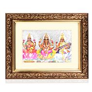 Lakshmi Ganesh Saraswati Frame - I