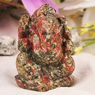 Unakite Ganesha - 94 gms