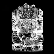 Sphatik Crystal Gayatri - 136 gms