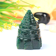 Green Jade Shree Yantra - 62 gms