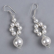 Pearl Earrings - VII