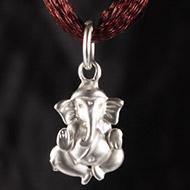 Ganesh Locket in Pure Silver - Design XXVII