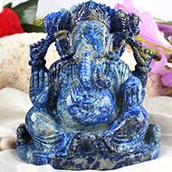 Lapis Lazuli Ganesha - 1.158 kgs