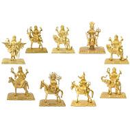 Navgraha Idols in Brass