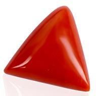 Italian Coral triangular - 8.50 carats