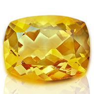 Yellow Citrine - 3 to 4 carats - Cushion