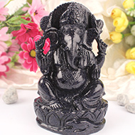 Blue Sunstone Ganesha - 1189 gms