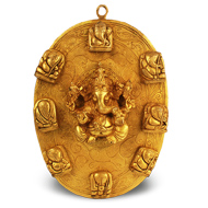 Shree Astha Vinayak Ganesh - Wall Artifact