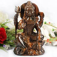 Shiva in Tiger Eye - 1.332 Kgs