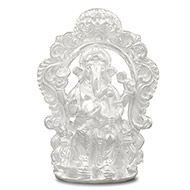 Lalbaugh Raja in pure silver