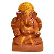 Eco-friendly Ganesha - II
