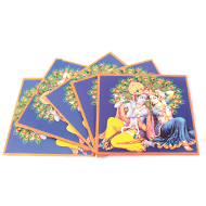 Radha Krishna Envelope - Square shape