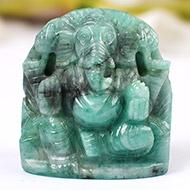 Ganesha in Emerald -  178 carats