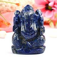 Lapis Lazuli Ganesha - 110 gms