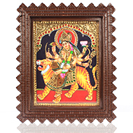 Goddess Durga Tanjore Pai