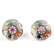 Navratna Earrings - Design I
