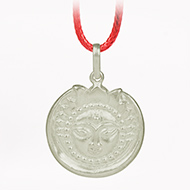 Surya Locket in Pure Silver - Design IV