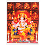 Lord Ganesh Glittering Photo