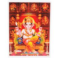 Lord Ganesh Glittering Photo