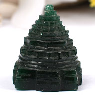 Green Jade shree Yantra - 33 gms