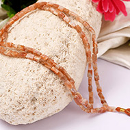 Sunstone Necklace - Rectangle beads