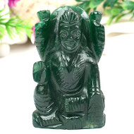 Laxmi in Green Jade