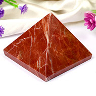 Pyramid in Red Jasper-Energy and strength - III