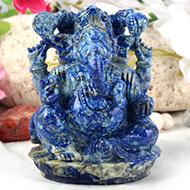 Lapis  Lazuli  Ganesha - 632 gms