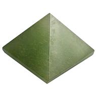 Pyramid in Green Jade - 105 gms