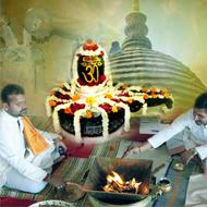 Rudra Abhishekam at Vindhyavasini Devi Temple