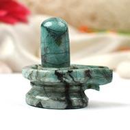 Shivlinga in Emerald - 142.72 carats