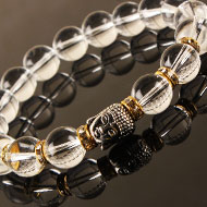 Crystal Buddha Bracelet