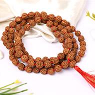 Rudraksha Mala 9mm - Chikna Beads