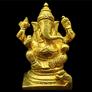 Ganesha in  Punchdhatu