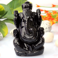Blue Sunstone Ganesha - 78 gms