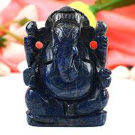 Lapis Lazuli Ganesha - 135 gms
