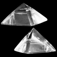 Sphatik Pyramid - Set of 2