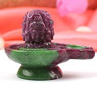 Pashupatinath Shivling in Ruby - 375 carats