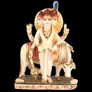 Lord Dattatreya marble idol