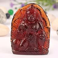 Hanuman in Gomed - 94 carats