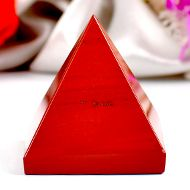 Pyramid in Red Jasper - VII