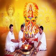 Surya - Sun - Grah Puja Mantra Japa and Yagna